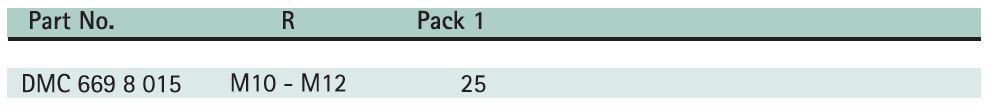 BIS Threaded Rod Support Size Chart - Hira Walraven
